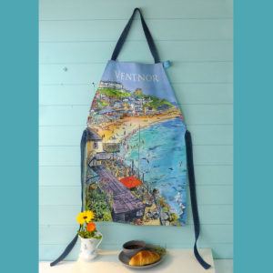 Ventnor Bay apron sewn on the Isle of Wight